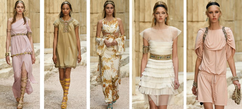модные летние вечерние платья 2018 от Шанель