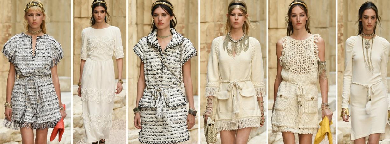 модные платья на весну 2018 от Шанель