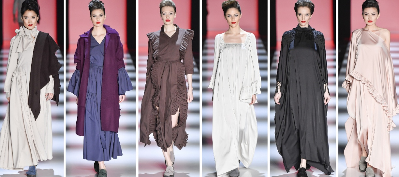 модные платья осень 2018 для женщин за 50 от Goga Nikabadze