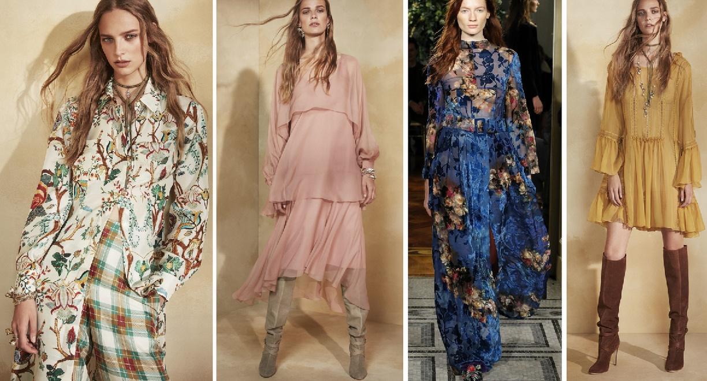 Платья на весну 2018 - платья от Alberta Ferretti