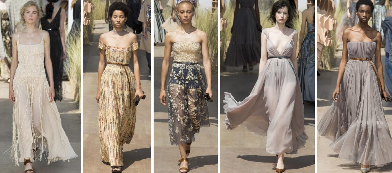 Лето 2018 - мода от Christian Dior