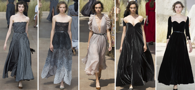 Вечерние платья на осень 2018 от Christian Dior