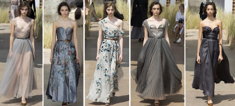 летние нарядные платья 2018 от Christian Dior
