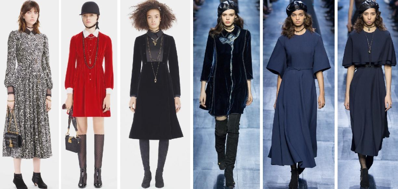 Зимние платья 2018 от Christian Dior