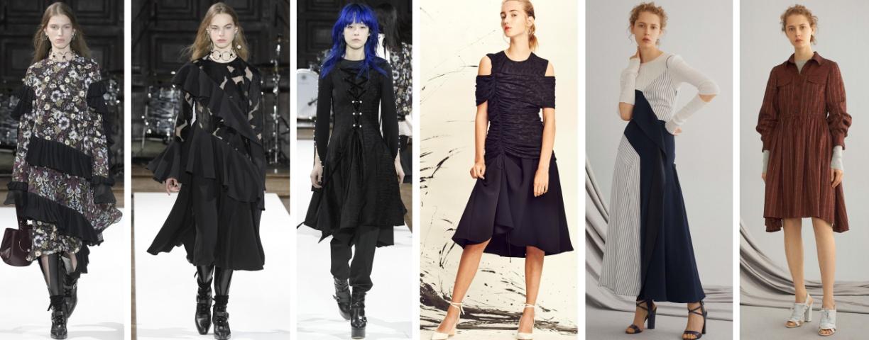 зимние деловые платья 2018 от ADEAM