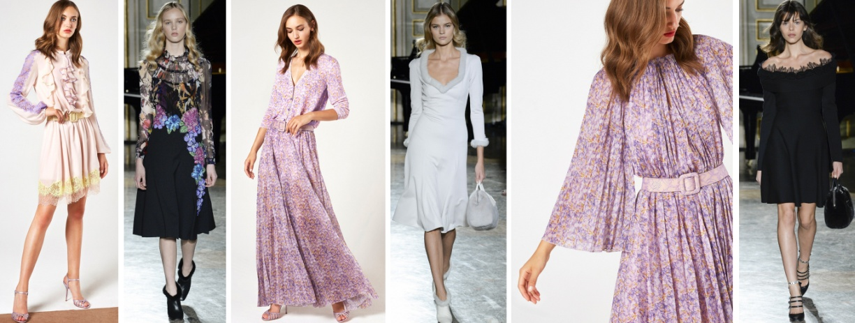 Модные платья на весну 2018 от Blumarine