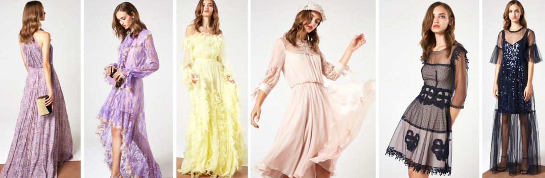 Платья на весну 2018 от Blumarine на вечер