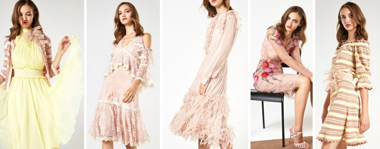 Праздничные платья на весну 2018 от Blumarine