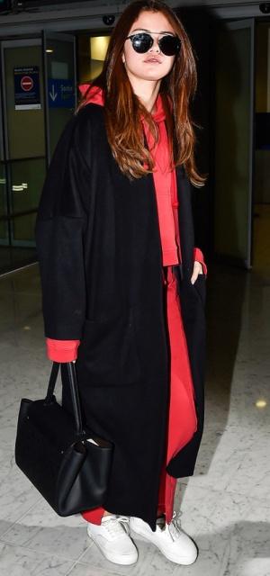 черное пальто для полных девушек