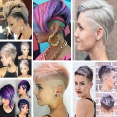 Фото новинки женских стрижек для средних и коротких волос 2018