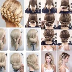 9 пошаговых схем создания простых и красивых причесок на длинные волосы