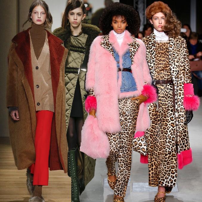 Пальто зимние женские 2017