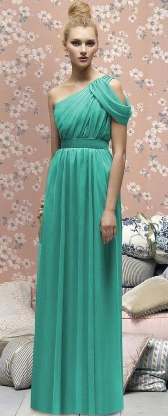 Выпускное вечернее платье в греческом стиле – описание и фото