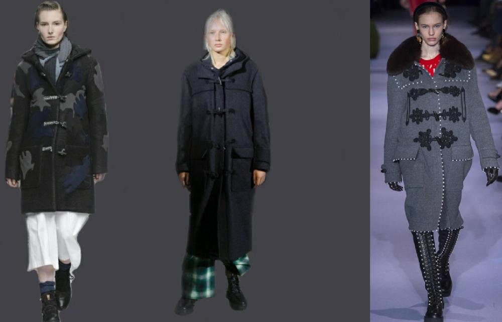 дафлкот - модное пальто сезона осень-зима 2017-2018