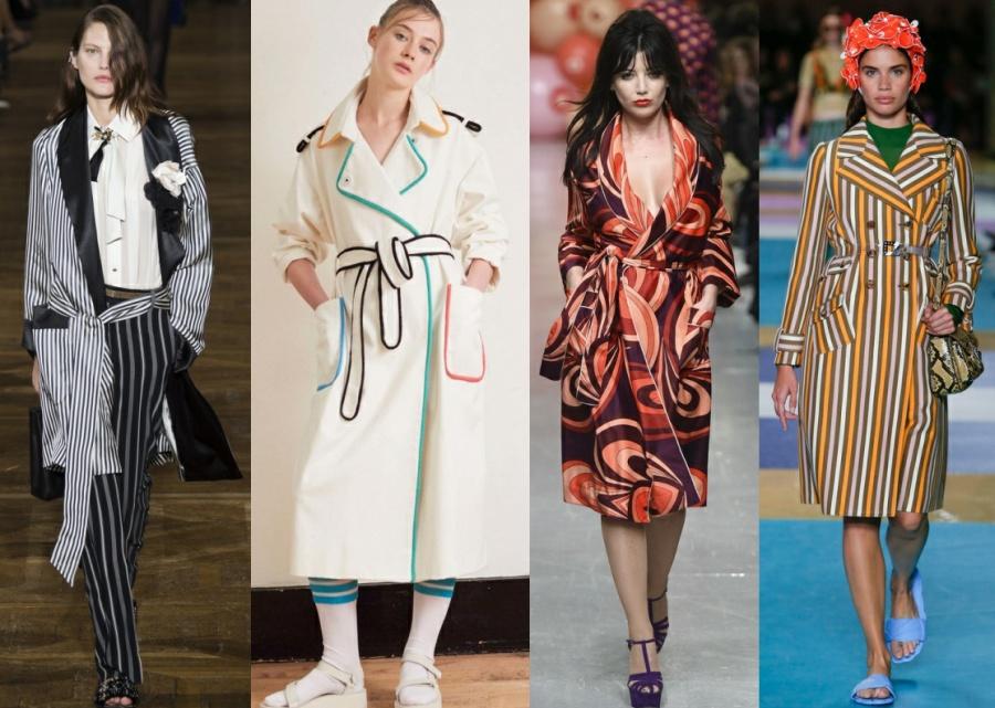 Плащ-халат - модная тенденция 2017 года