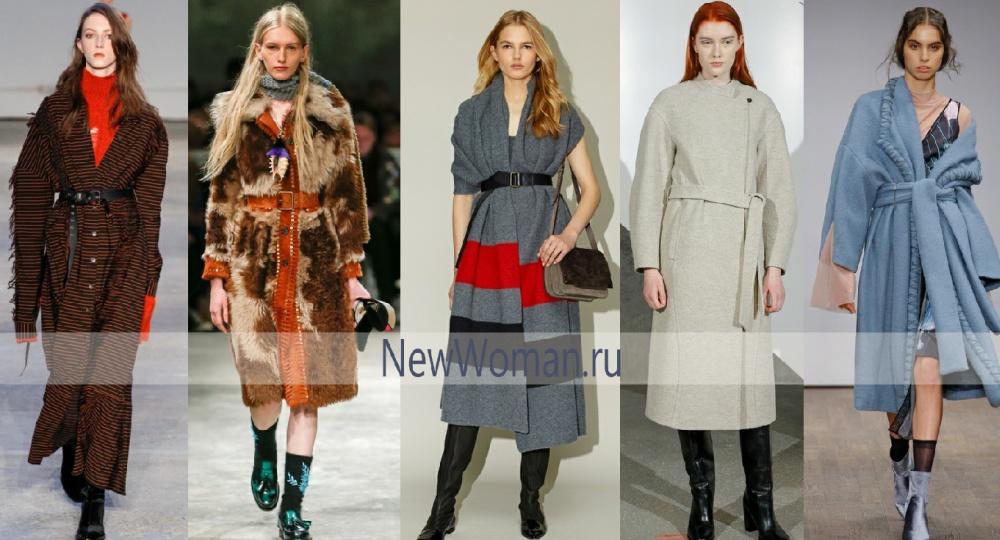 Осеннее пальто 2017 с аксессуарами - мужские ремни и пояса разной ширины