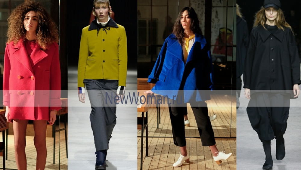 Тренды женской моды на осень 2017 – полупальто