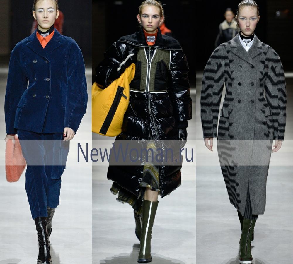 Модная ткань осеннего пальто 2017 - вельвет, плащевка лаке, лавсан