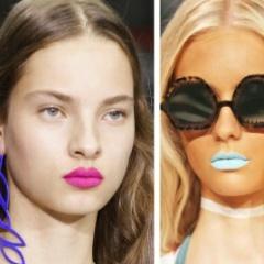 Модный макияж весна-лето 2017