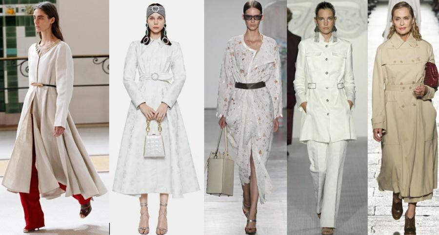 Элегантный плащ мода весна-лето 2017