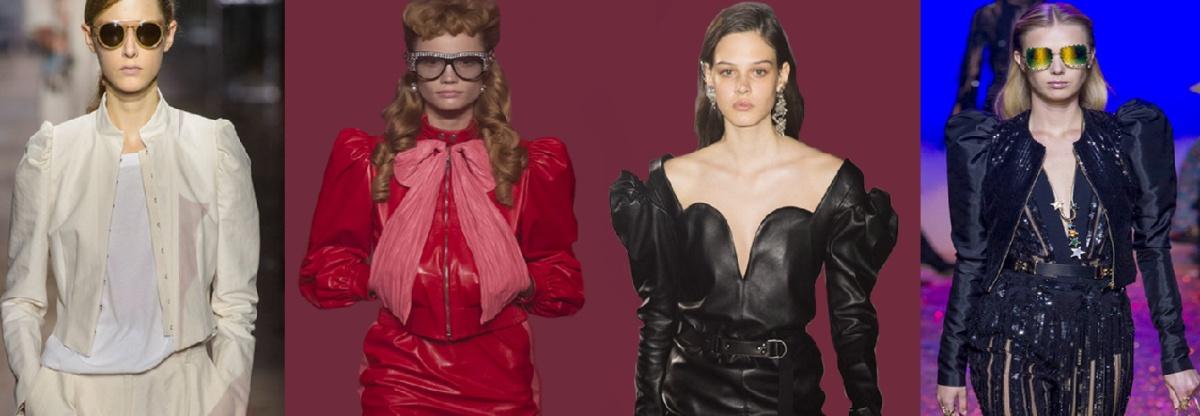 весенние модные тенденции 2017 - куртки с рукавами-фонариками