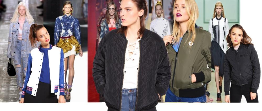 Фото стилей молодежных курток Весна-Лето 2017 для девушек