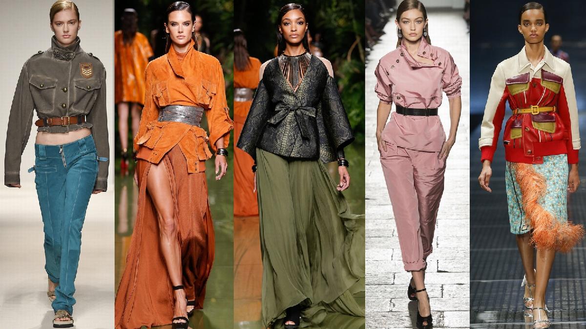 модные женские куртки весна 2017 с ремнем и поясом