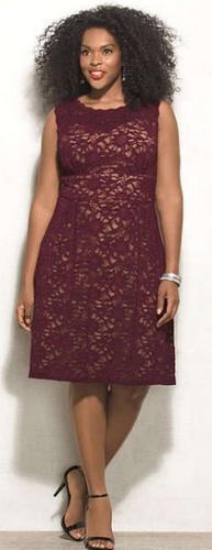 Стильные вечерние платья для полных девушек и женщин (17 фото)