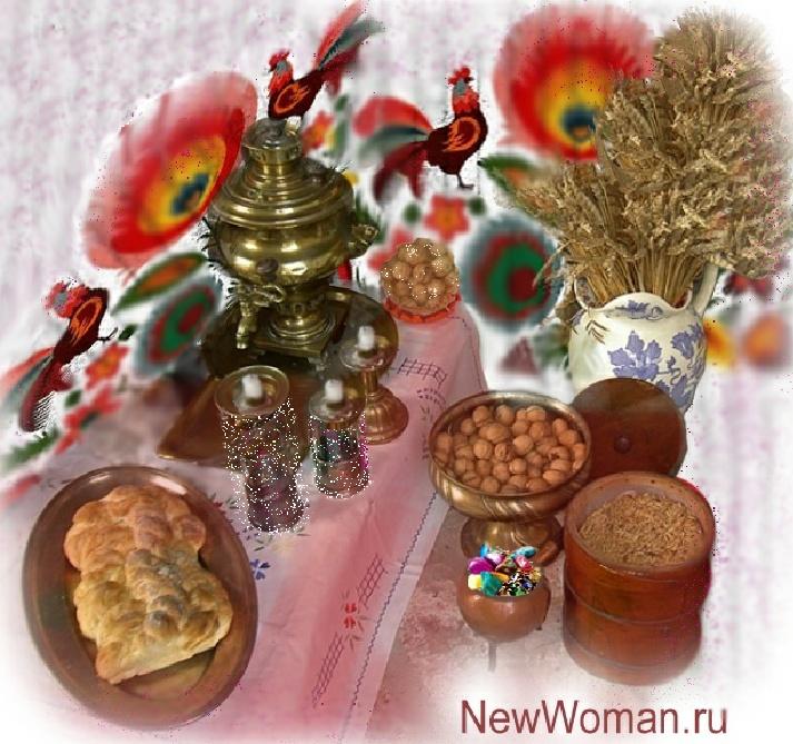 новогодний декор в деревенском стиле в год петуха