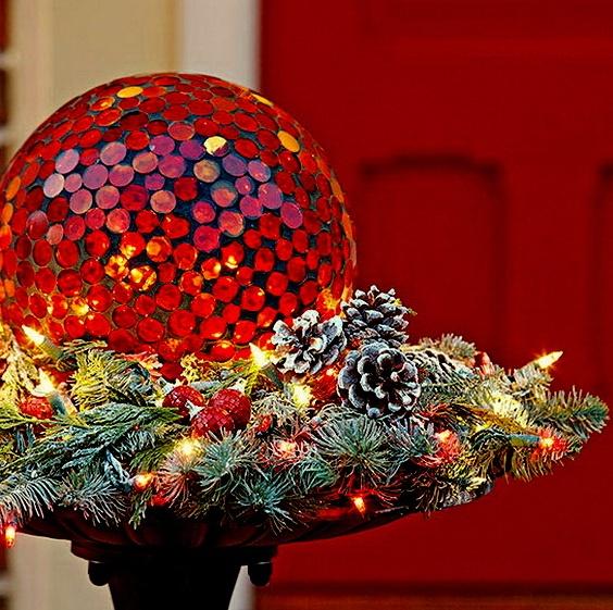 Новогодний декор в год Петуха