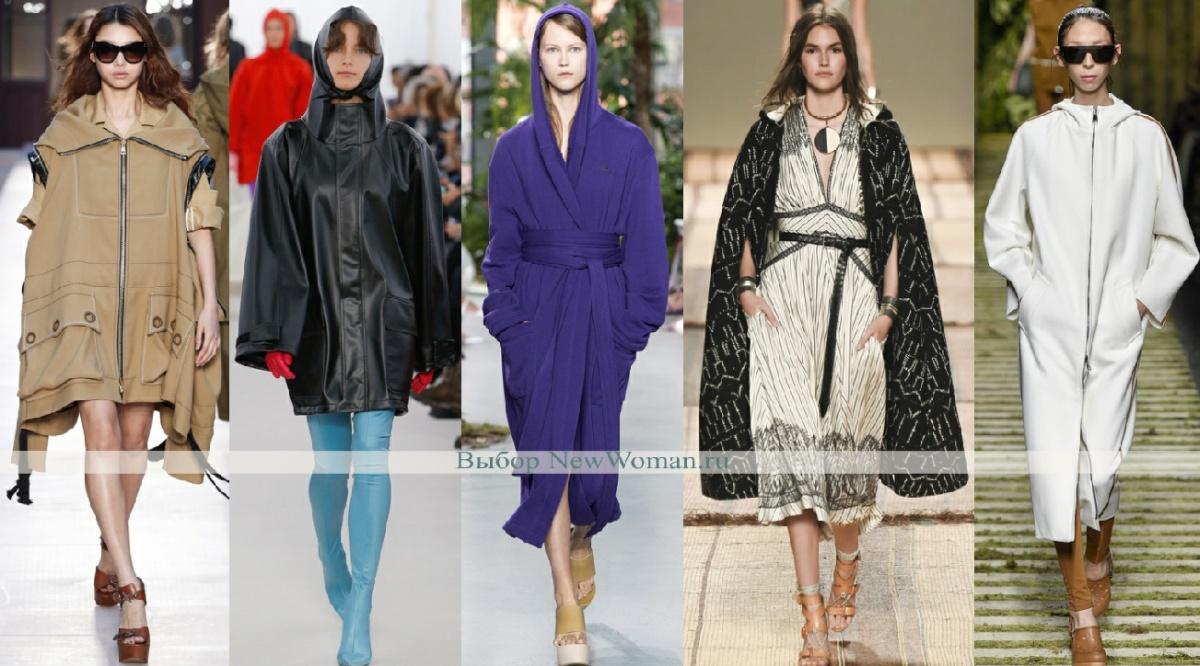 модные пальто для женщин с капюшоном - тенденции моды на весну 2017 года