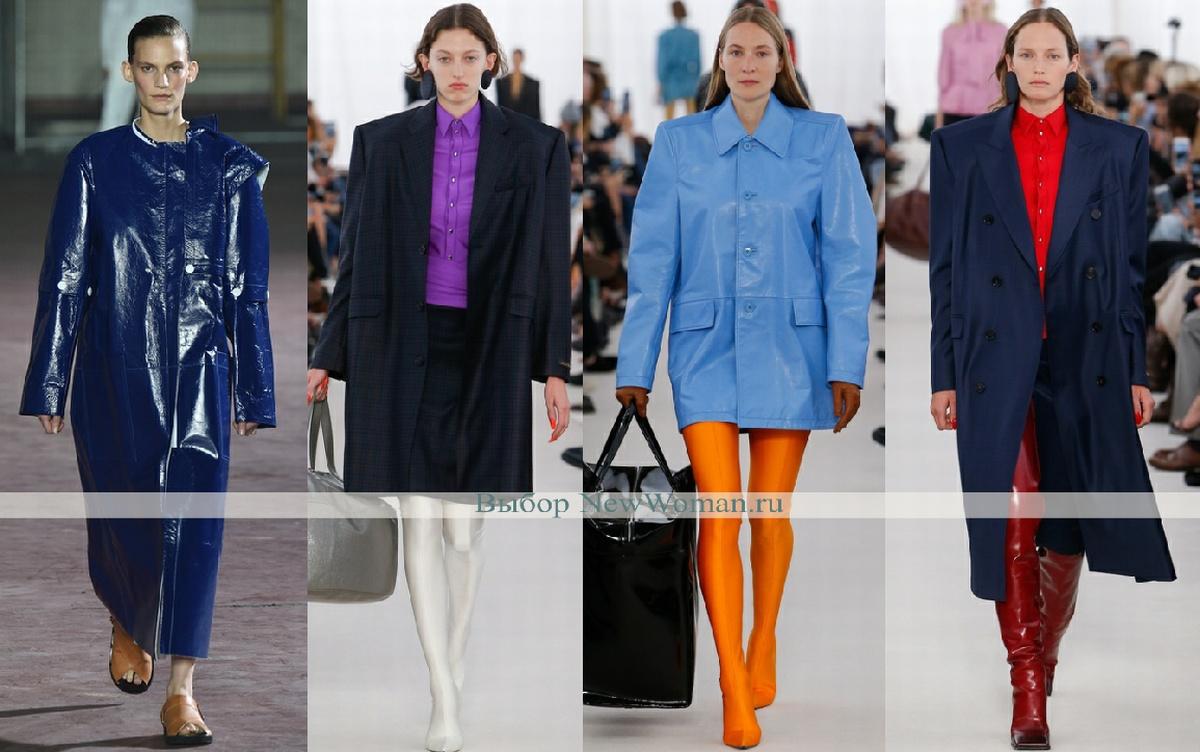 дамские пальто с широкими мужскими плечами - тенденции и фото модной весны 2017