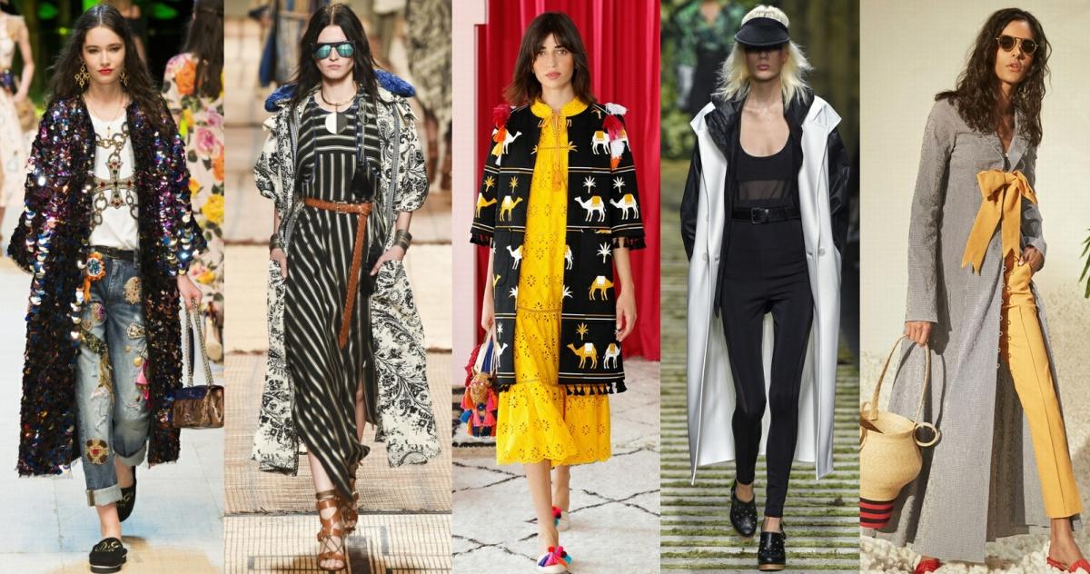 С чем носить, с чем сочетать модное весеннее пальто 2017