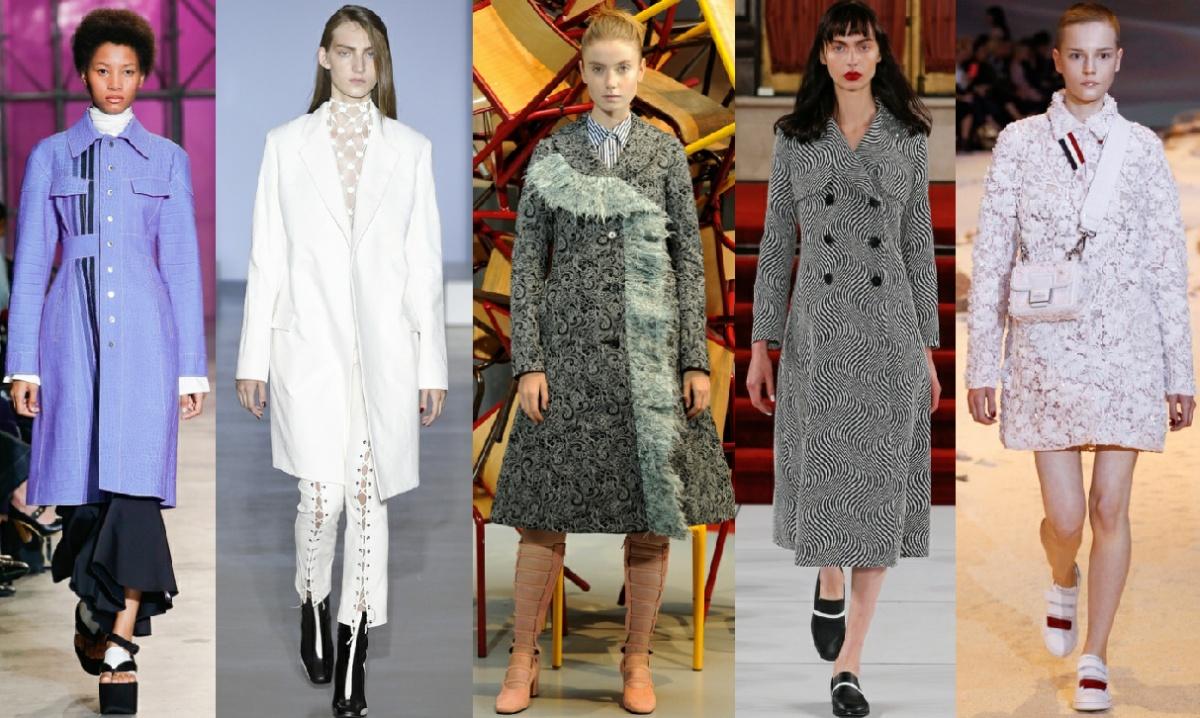 С чем носить, с чем сочетать модное весеннее пальто 2017 с другими видами женской одежды
