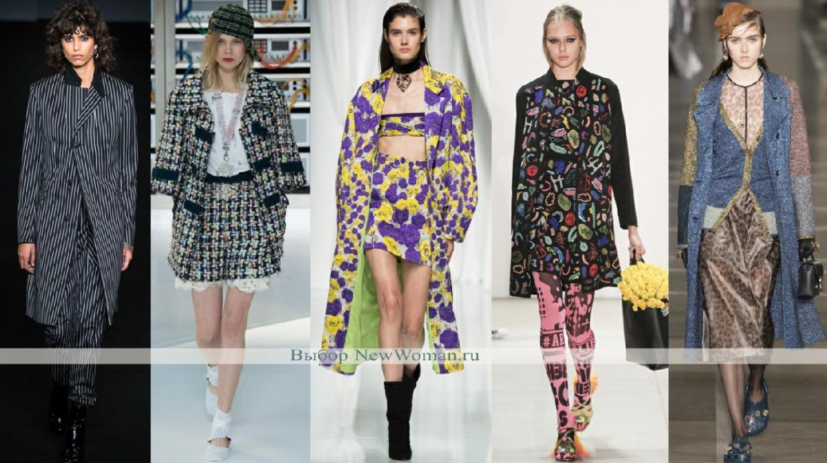 Пальто в комплекте - фото дизайнерских предложений на весну 2017