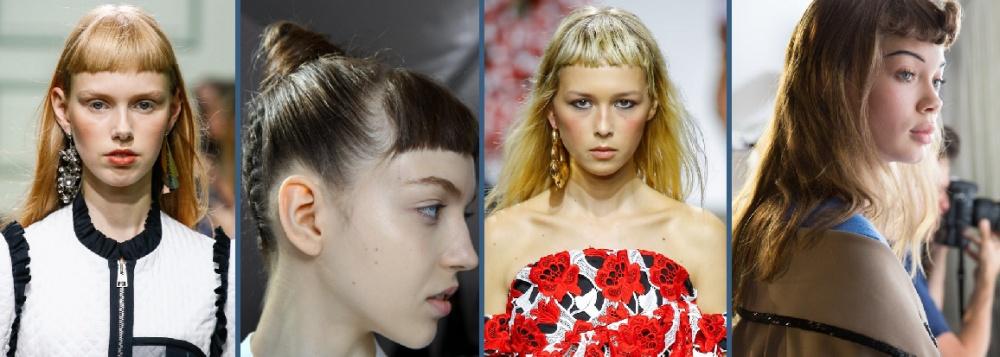 Короткая челка 2017 модные тенденции