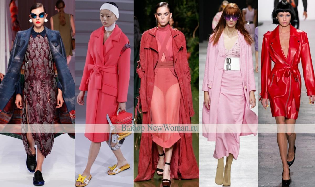 Мода 2017 Пальто