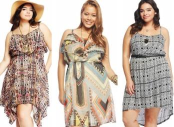 Летние модные сарафаны для полных