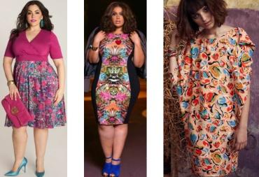 Короткие летние платья для полных