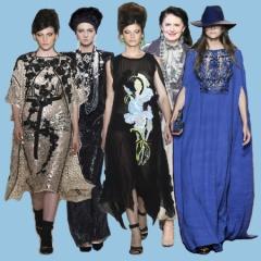 нарядные платья для пожилых и полных женщин
