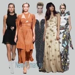 Модные нарядные платья 2017 года - фото