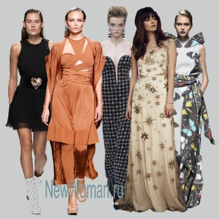 Нарядные платья 2017 года - тенденции и фото