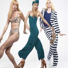 Летняя коллекция модной женской одежды 2017 от американского дизайнера Нормы Камали - фото вариантов для блондинок