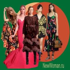 Офисные деловые платья осень-зима 2017 — новинки, фото