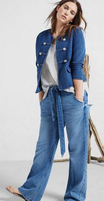 Брюки для полных модные