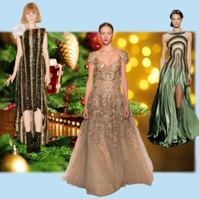 Платья женские на новогодний огонек