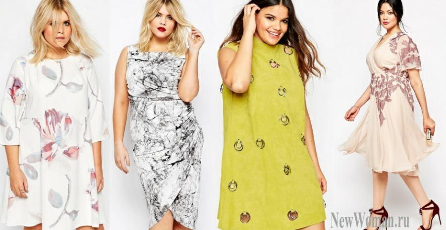 Фото модных летних платьев и сарафанов для полных девушек - фото