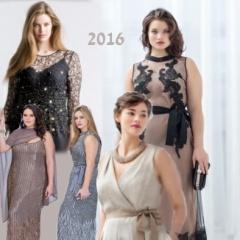 Платья для полных 2016