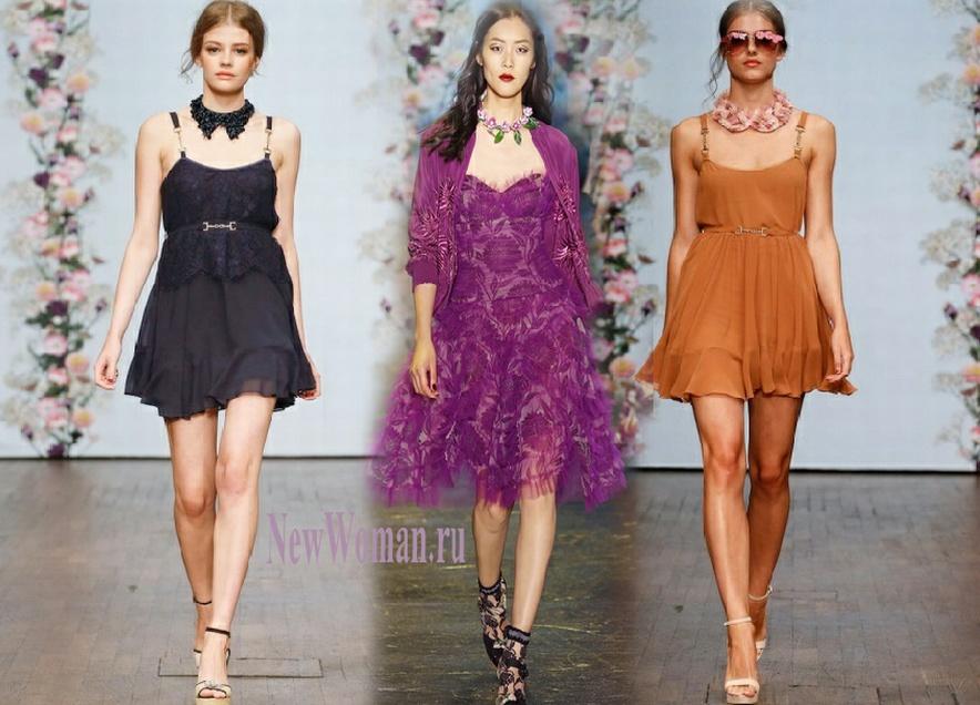 Модные платья для балов