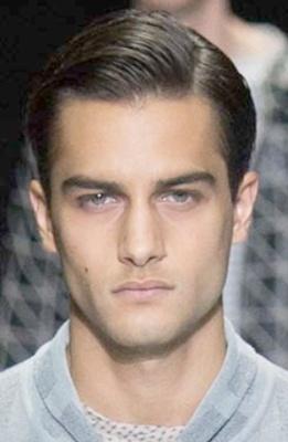 Фото молодежных стильных мужских стрижек